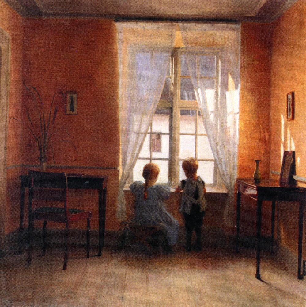 Peder Vilhelm Ilsted Ved Vinduet A the Window